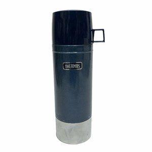 Vintage Thermos Vacuum Bottle Model 2480 1 Liter